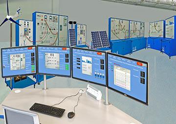 ازمایشگاه های تحقیقاتی فشار قوی-اسمارت گرید-انرژی های نو-کنترل و دیسپاچینگ